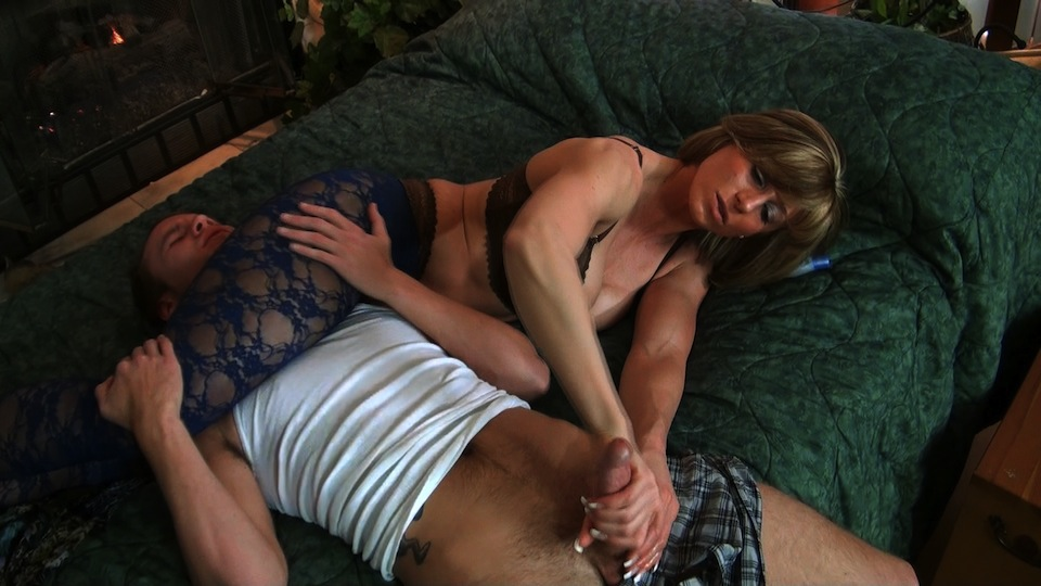 Hand job domination